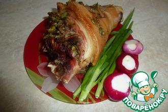 Свиная рулька запеченная в духовке