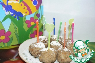 Горохово-ржаные кейк-попсы