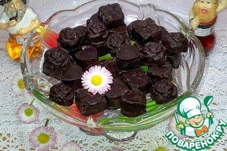 Шоколадные конфеты с нутом