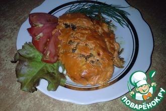 Конгрио под сметанно-томатным соусом
