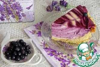 """Творожный торт """"Черничное наслаждение"""""""