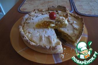 Абрикосово-апельсиновый пирог
