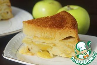 Супер-яблочный пирог
