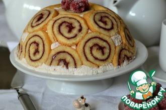"""Торт """"Малиновый звон"""""""