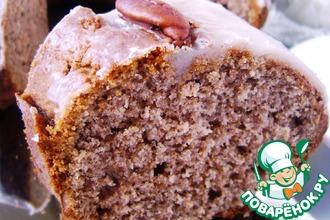 Кекс ореховый на цельной муке