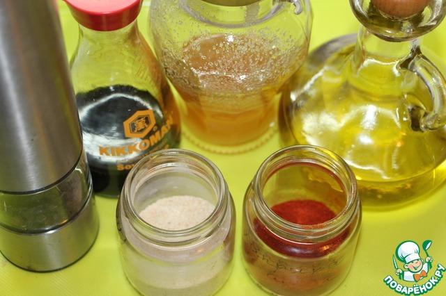 Приготовить ингредиенты для второго маринада