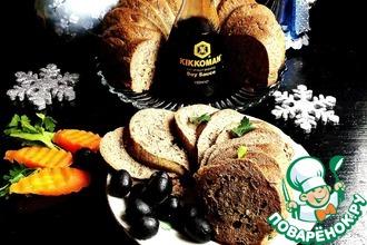 """Кекс печеночно-сырный с зеленью """"Новогодний"""""""