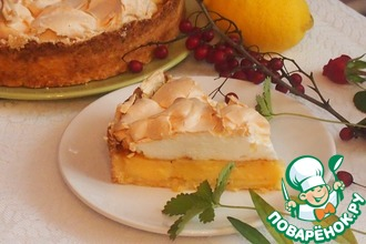 Лимонный пирог из Ментона