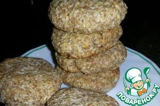 Арахисово-кокосовое печенье