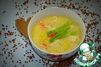 Сырно-куриный суп