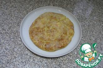 Пирог с крабовыми палочками