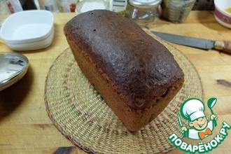 Хлеб формовой из грубой муки