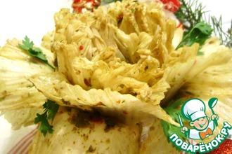 Кимчи «Застольный пион»
