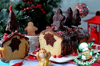 Рождественский кекс с сюрпризом
