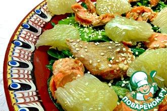 Китайский новогодний салат