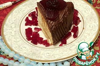 Вафельный торт для мамы