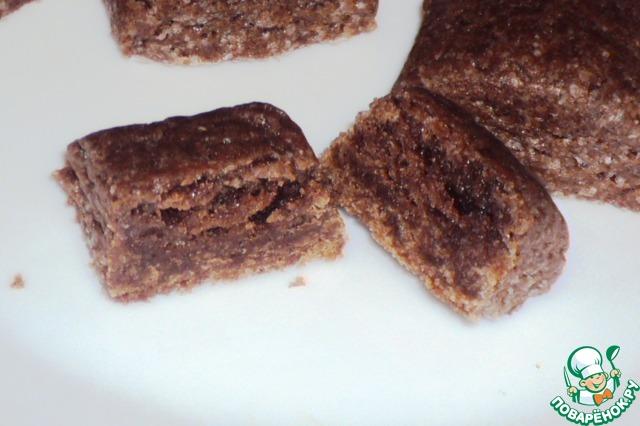 Серединка мягкая, с нежной текстурой, а вкусом подушечки похожи на трюфели!