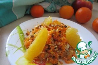 Необычный салат из моркови с семенами подсолнечника