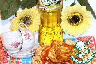 Соус из меда и карри для блинов