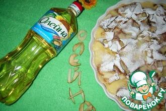 Блинчики с творогом и ананасом