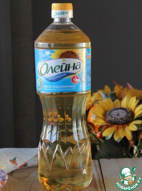 Готовим с подсолнечным маслом Олейна