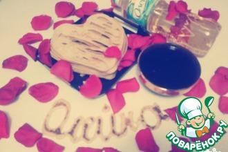 """Блины-сердце """"Для любимого"""" с ягодами"""