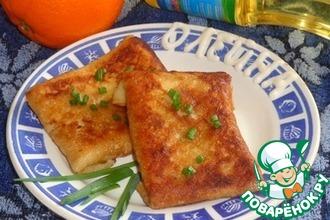 Рыбно-овощная начинка для блинов