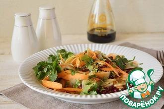 Салат из моркови с топинамбуром
