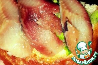 Закусочные бутерброды с сельдью
