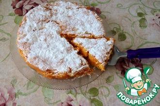 Тыквенно-морковный пирог с лимоном