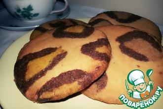 Леопардовое печенье