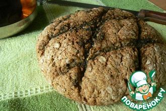 Хлеб по-ирландски с чесноком и зеленью