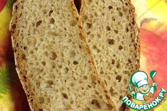 Бездрожжевой хлеб из цельнозерновой муки спельты