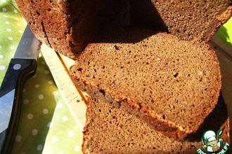 Бородинский хлеб на советской ржаной закваске
