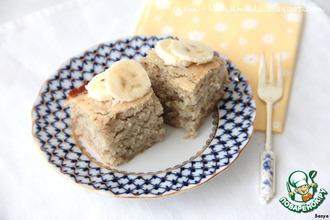 Банановый бисквит-кекс