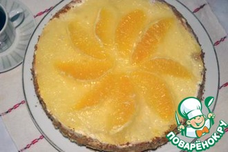 Апельсиновый торт