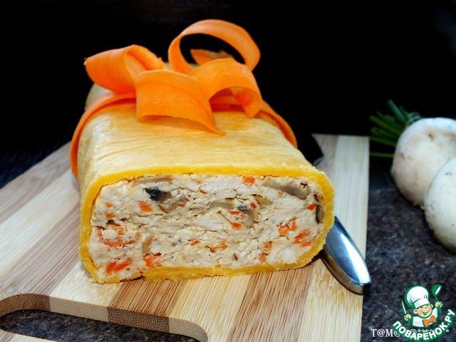 Украсить салат можно по вашему желанию. Я сделала бант из пластинок моркови. Получилось очень вкусно! Рекомендую. Приятного аппетита!