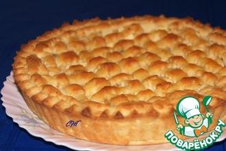 """Итальянский торт """"Хлеб и яблоки"""""""