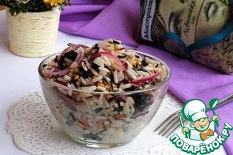 Пикантный рисовый салат