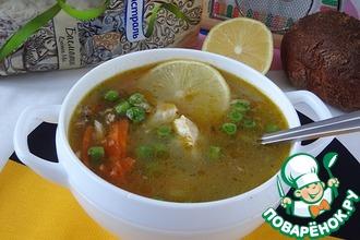 Пряный куриный суп