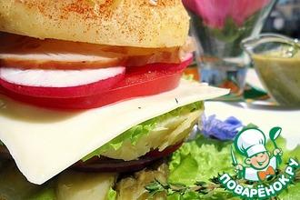 Сэндвич-салат из картофеля