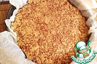 Деревенский пирог с творогом
