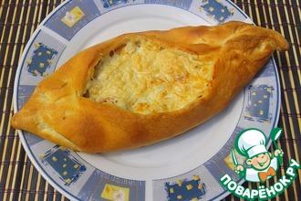 Пенирли с сыром и беконом