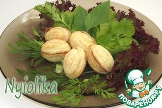 Сырные орешки с начинкой