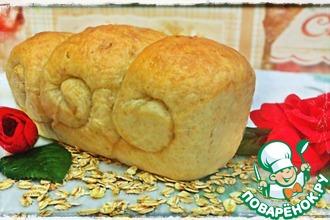 Домашний овсяный хлеб
