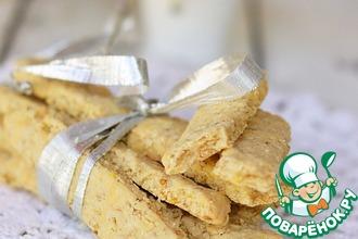 Злаковое печенье с сыром