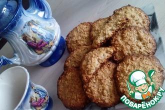 Овсяное печенье со сливочным вкусом