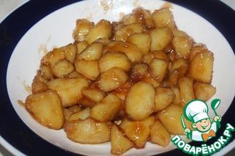 Картофель в кисло-сладком соусе