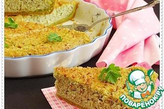 Пирог с брокколи, киноа и сыром