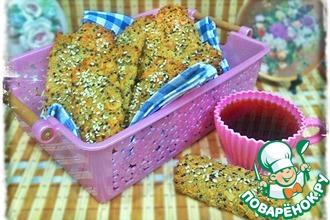 Миндальное печенье с киноа